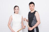 (画像左から)山脇千栄、住吉佑太 撮影:イシイノブミ