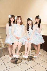 (画像左から)西本珠理、塚本里咲、浅野きえ、市川楓