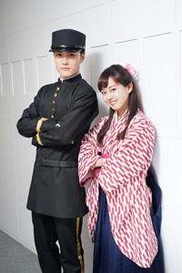(画像左から)入江甚儀、宮崎香蓮 撮影:源賀津己