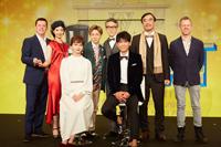 ミュージカル「TOP HAT」制作発表より 撮影:石阪大輔