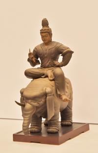 特別展「国宝 東寺-空海と仏像曼茶羅 」会見より (C)KAIYODO