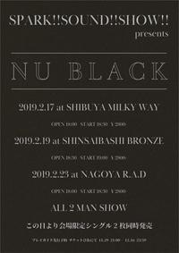 SPARK!!SOUND!!SHOW!! presents NU BLACK