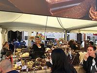 現地の『Eurochocolate』の模様