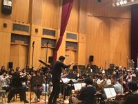 「ホーム・アローンinコンサート」オーケストラリハーサル