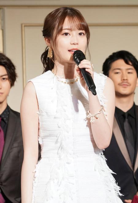 『レ・ミゼラブル』製作発表会見より 撮影:源賀津己