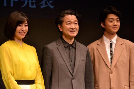 南沢奈央、白井晃、伊藤健太郎