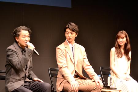 白井晃、伊藤健太郎、岡本夏美