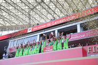 2018Jリーグ YBC ルヴァンカップ優勝を果たした湘南ベルマーレ (c)J.LEAGUE