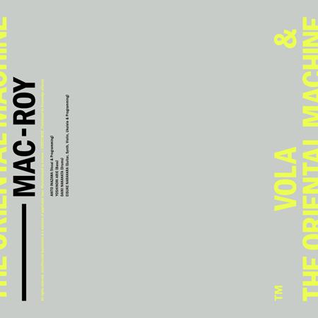 デジタルシングル『MAC-ROY』