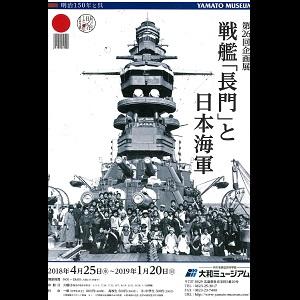 ◎第26回企画展 戦艦「長門」と日本海軍