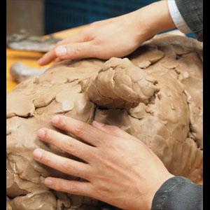 ◎県美プレミアムII「美術の中のかたち―手で見る造形 触りがいのある犬―中ハシ克シゲ」<2枚セット>