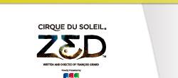 シルク・ドゥ・ソレイユ「ZED」(ロゴ)