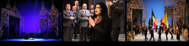 マスカーニ:カヴァレリア・ルスティカーナ 舞台写真