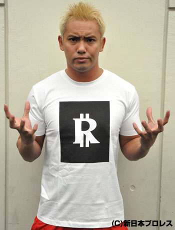 オカダ・カズチカ「RAINMAKER DOLLAR」Tシャツ