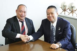 Jリーグ 中西常務理事・稲垣理事