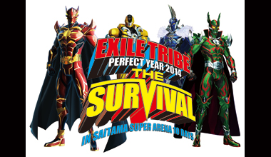 "EXILE TRIBE PERFECT YEAR 2014 SPECIAL STAGE ""THE SURVIVAL"" IN SAITAMA SUPER ARENA 10 DAYS (埼玉県)"