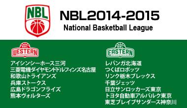 NBL2014-2015 (全国)