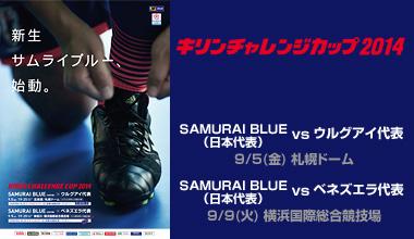 スポーツFLASH キリンチャレンジカップ2014 (北海道・神奈川県)