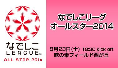なでしこリーグオールスター2014 (東京都)