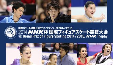 2014NHK杯国際フィギュアスケート競技大会 (大阪)