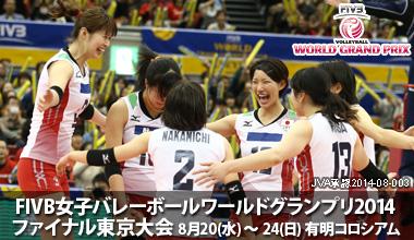 FIVB女子バレーボールワールドグランプリ2014 ファイナル東京大会 (東京都)