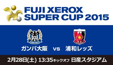 FUJI XEROX SUPER CUP 2015 (神奈川県)