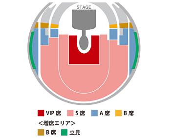 横浜アリーナ座席図