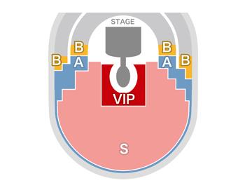 大阪城ホール座席図