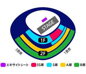 東京 座席図