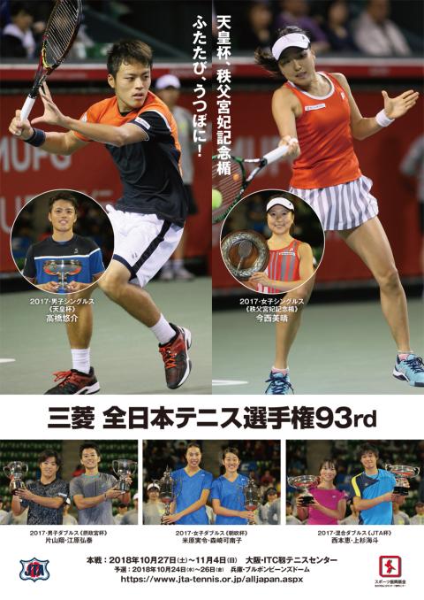 三菱 全日本テニス選手権 93rd(...