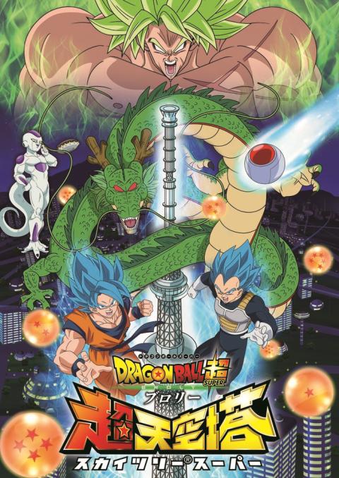 『ドラゴンボール 超ブロリー超 天空塔』 & 『ドラゴンボール 超悟空伝』