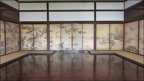 大徳寺聚光院で天才絵師狩野永徳と茶人千利休に思いを馳せる