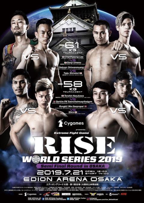RISE WORLD SERIES 2019 Semi Final Round in OSAKA