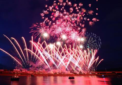 豊橋祇園祭 打ち上げ花火大会