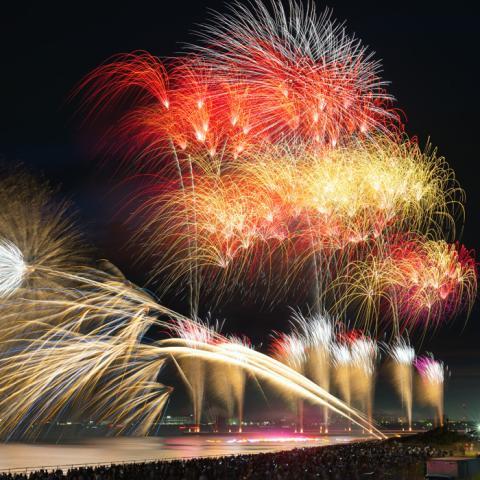 幕張ビーチ花火フェスタ2019(第41回千葉市民花火大会)〈幕張海浜公園〉