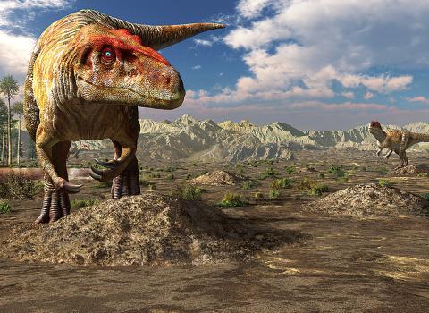 令和元年度御船町恐竜博物館特別展「肉食恐竜~ミフネリュウ発見から40年~」