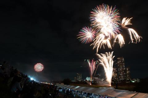 川崎市制記念 第78回 多摩川花火大会