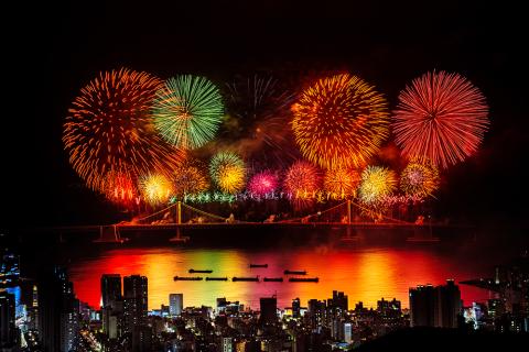 The 15th Busan Fireworks Festival