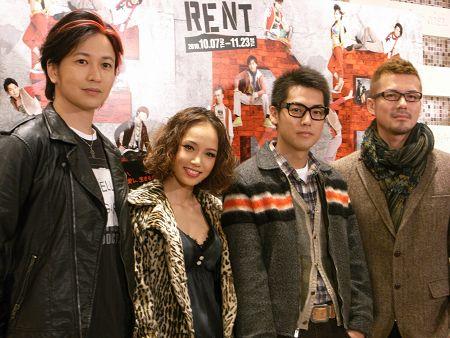 「2010年に公開されるミュージカル「RENT」 ソニン」の画像検索結果