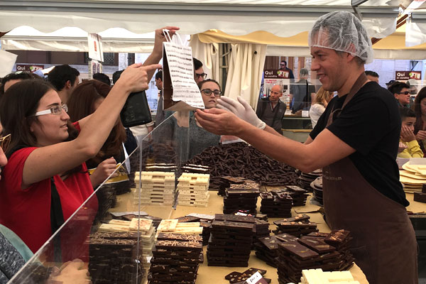 Eurochocolate in Osaka 2019